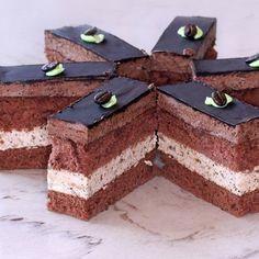 Hungarian Recipes, Cake Bars, Tiramisu, Food And Drink, Cooking Recipes, Pasta, Sweets, Cookies, Drinks