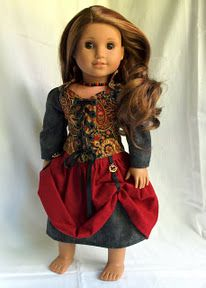 Okay a pirate and an American Girl mix together and voila CUTE,CUTE,CUTE!