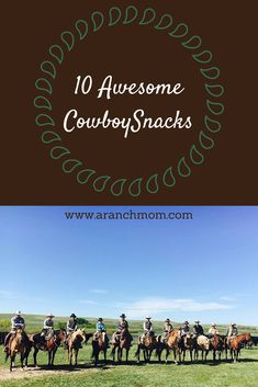 These work great for taking to the cowboys in the corrals, or to your farmer in the field. They can be breakfast on the go, too. Appetizer Recipes, Snack Recipes, Appetizers, Cowboy Snacks, Breakfast Casserole, Breakfast Recipes, Field Meals, Biscuits And Gravy, Ranch Life