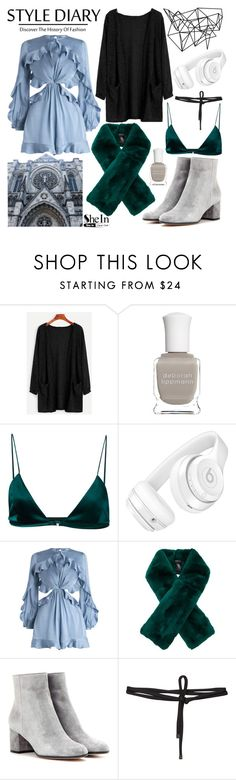 """Style Diary"" by bliss-fashion on Polyvore featuring Color Me, Deborah Lippmann, Dion Lee, Beats by Dr. Dre, Zimmermann, Adrienne Landau, Gianvito Rossi and Beaufille"