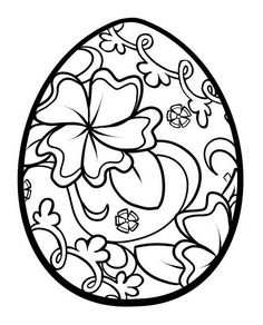 printable easter egg for kid coloring drawing free wallpaper