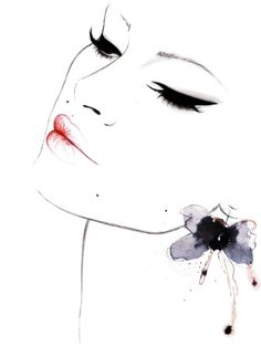 "Fashion Illustrations by Kornelia Dębosz: ""Anne"" for Alee Fashiionhttp://aleefashiion.com/in..."
