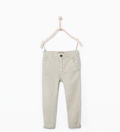 ZARA - KIDS - Linen chino trousers