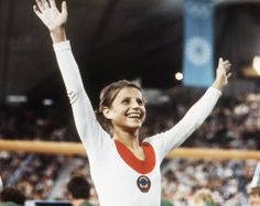 August 31, 1972: Olga Korbut, seventeen, wins two gold and one silver medal in individual competition at the Summer Olympics in Munich. The four-foot-11-inch, 84-pound Korbut delights viewers with the joy of her performances.