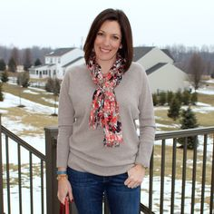 Today is Day 12 of my 28 Days of Winter Fashion for Moms. Get wearable outfit ideas for real women.