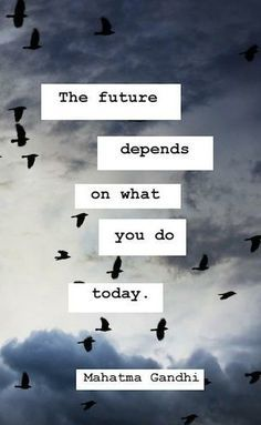 This is why decisions are more important than mere choices. Decisions are oriented to the future. Choices are limited to the present like judgments are limited to the past. Make a decision today that actualizes tomorrows.
