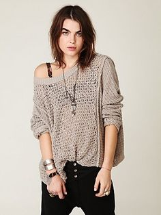 Free People Laguna Coast Pullover at Free People Clothing Boutique - StyleSays