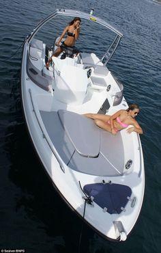 Sealver Wave Boat Jet Ski Add On Attachment Jet Ski Fishing, Fishing Boats, Ski Boats, Cool Boats, Yacht Boat, Pontoon Boat, Mini Yacht, Sailing Boat, Boat Design