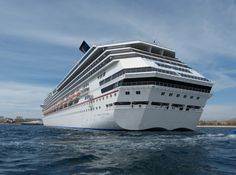 "A photo of a cruise ship. Credit: David Ortega. Read more on the GenealogyBank blog: ""Planning Your Genealogy Trip: Summer Vacations for Genealogists."" http://blog.genealogybank.com/planning-your-genealogy-trip-summer-vacations-for-genealogists.html"