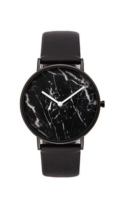 Shop for The Horse Watch in Polished Black & Black Marble at REVOLVE. Horse Watch, Black And White Marble, Horse Jewelry, Bracelet Cuir, Leather Watch Bands, Luxury Shop, Revolve Clothing, Fashion Accessories, Watch Accessories