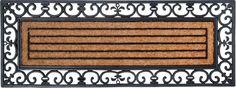 25,43 120x45 Deurmat - XL - Kokos - Rubber - Esschert Design