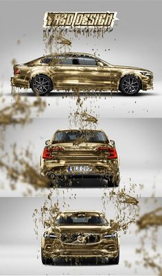 Volvo S90 Gold Edition by Yagodesign – Yago Design