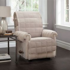 Sure Fit Slipcovers Silky Touch Recliner Cover Recliner
