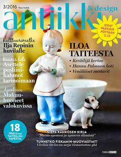 Antiikki & Design 3/2016 kansi. Photo Pia Inberg. Style Irene Wichmann.