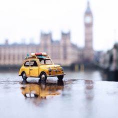 In her ongoing series Travelling Cars, photographer Kim Leuenberger loves to travel and take pictures of vintage toy cars placed in different city and landscapes, creating amusing little artworks that...