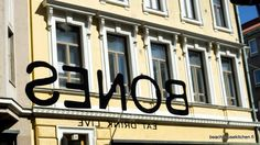 Tres Bones on nyt Bones! Beach House Kitchens, Home Kitchens, Helsinki, Finland, Bones, Company Logo, Restaurant, Design, Diner Restaurant