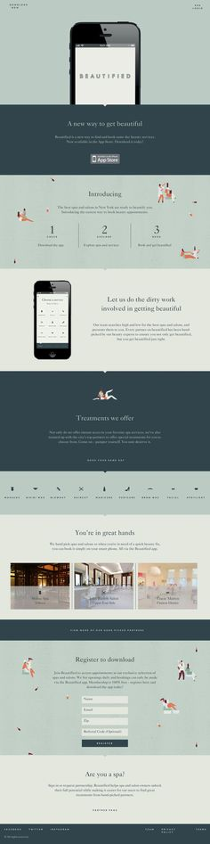 a54eda1b2b9 Get Beautified app and website by Lotta Nieminen Beautify App, Website  Layout, Web Layout