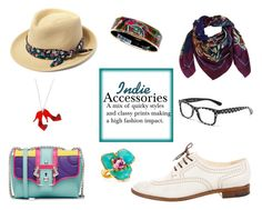 """Indie Accessories"" by horse-dance-princess on Polyvore featuring Hat Attack, Heron Design Studio, Hermès, Robert Clergerie, Dolce&Gabbana, Kenneth Jay Lane, Paula Cademartori and Tatty Devine"
