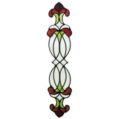 Found it at Wayfair Supply - Window Decor Ophelia Stained Glass Applique Window Sticker