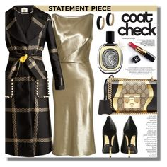 """#480 ~ Go Bold: Statement Coats"" by cresentia-titi ❤ liked on Polyvore featuring Gucci, Diptyque, Nili Lotan, Fendi, Balmain, Chanel, By Terry, Zimmermann, 10 and statementcoats"