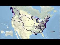 30-second animation of the changes in U.S. historical county boundaries, 1629 - 2000