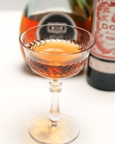 Corpse Reviver No. 1: Brandy, Apple Brandy, and Sweet Vermouth