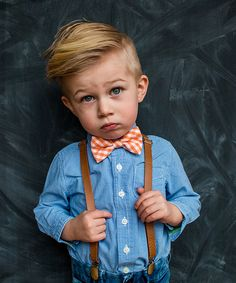 Look at this #zulilyfind! Orange Gingham Bow Tie by Trendy Ties #zulilyfinds