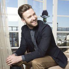 Justin Timberlake is the voice of Branch in DreamWorks Trolls #DreamWorksTrolls