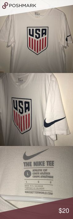 Nike US Men's Soccer National Team T-Shirt Used a couple of times but still in perfect conditions! Nike Shirts Tees - Short Sleeve