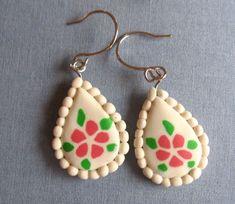 ... polymer clay earrings tutorial