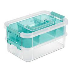 Sewing Room Storage, Storage Tubs, Cheap Storage, Plastic Box Storage, Small Storage, Storage Boxes, Storage Baskets, Storage Spaces, Storage Ideas