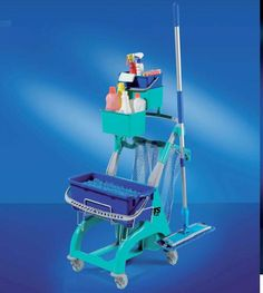 Profesjonalne wózki do sprzątania #Ole #Wózki #Sprzątanie