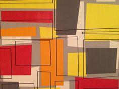 совокупность хаотичных форм и цветов объединяются в неповторимый рисунок
