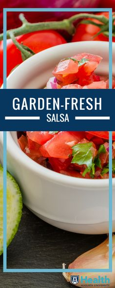 Chop up ripe tomatoes and fresh herbs for homemade salsa that's bursting with flavor.