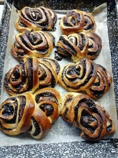 Hungarian Desserts, Hungarian Recipes, Baby Food Recipes, Cooking Recipes, Baking And Pastry, Desert Recipes, Sweet Bread, Diy Food, Food To Make