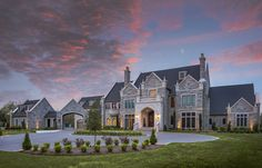 English Tudor | Portfolio | Sims Luxury Builders How To Make Building, Mega Mansions, Narrow House, English Tudor, Tudor House, Large Homes, House Colors, Custom Homes, Luxury Homes