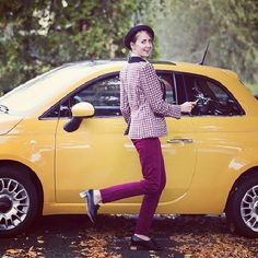 Colour your autumn with ; Fiat 500e, Fiat Abarth, Autumn, Colour, Color, Fall Season, Fall, Colors