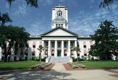 Florida State Capitol Building  in Tallahassee, Florida. The old capital building, and the top of the new capital was always my favorite field trip