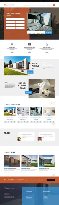 Leuendano - Real Estate Agency Responsive PrestaShop Theme is a fantastic combination of top-notch functionality and modern design. A wide range of UI elements allows you to add all necessary content to your real estate site with minimum efforts. #realestatewebsite #propertywebsite https://www.templatemonster.com/prestashop-themes/real-estate-agency-responsive-prestashop-theme-63856.html