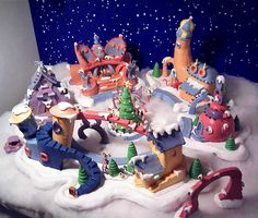 Polymer Clay Christmas Village.79 Best Polymer Clay Christmas Images Polymer Clay