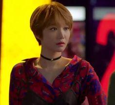 香港IT代購她很漂亮高俊熙閔夏莉黃美英同款韓版紅色複古印花襯衫