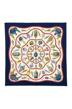Vintage Hermes Silk Qu Importe Le Flacon Scarf