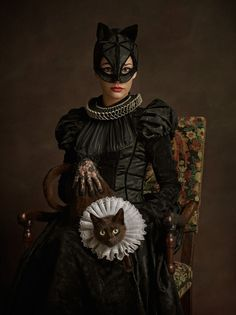 Remarkable 16th Century Style Superhero and Star Wars Cosplay