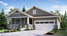 DEVON 1988 New Home Plan in Heritage Todd Creek Monarch Collection by Lennar