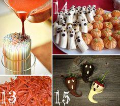 O terceiro post do especial festa de halloween é meu preferido!!! Docinhos arrepiantes! Hummm...
