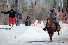My Skis Have Horsepower: Skijoring in Idaho | Sun Valley Magazine #skijoring #wintersports #horses