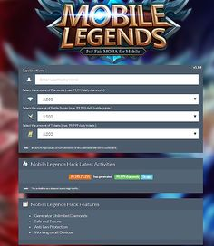 mobile legends hack new version download - MOD GAME