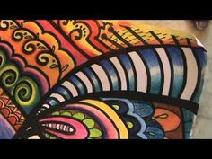 Colorful Circles Tangle - YouTube