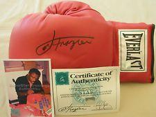 Smokin Joe Frazier - Everlast Boxing Glove - Genuine Autograph.