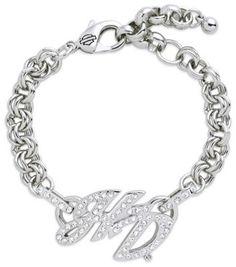 Harley-Davidson® Crystal H-D Bracelet